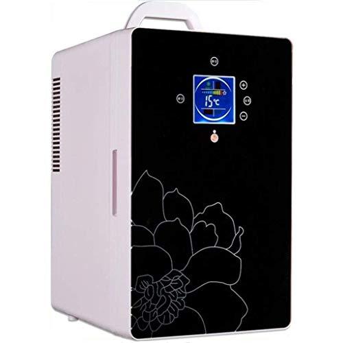 FEE-ZC 16L Autokoelkast, stille desktop-minibar autokoelkast Home Dual-use use koelkast auto kleine koelkast hete en koude koelkast (maat: B)