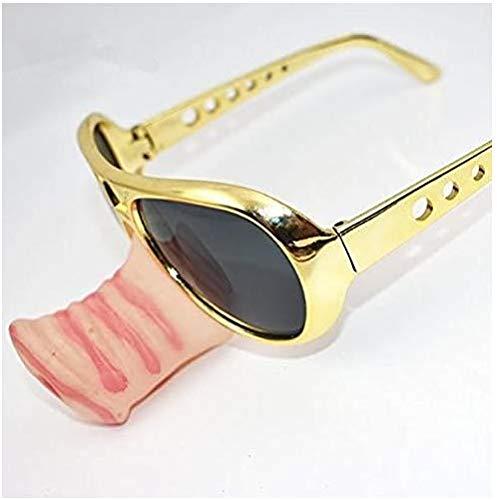 Gafas de sol de nariz cerdo Specs Frame Fancy Snout llamativo gafas de fiesta divertido cristal accesorios de disfraz