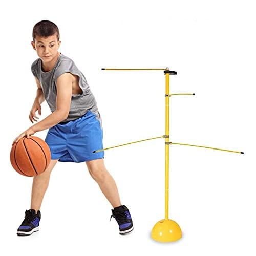 CONSUNDYTT Baloncesto Fitness Training Stick - Dispositivo de Entrenamiento Dribble Stick Baloncesto Entrenador Habilidades de regate Dispositivo de Entrenamiento Equipo de Baloncesto