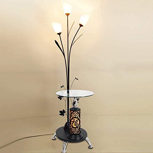 Living Equipment Living Room Floor Lamp Creative Fashion Simple Modern Coffee Table Floor Lamp Bedroom Bedside Lamp Vertical Table Lighting Lamps