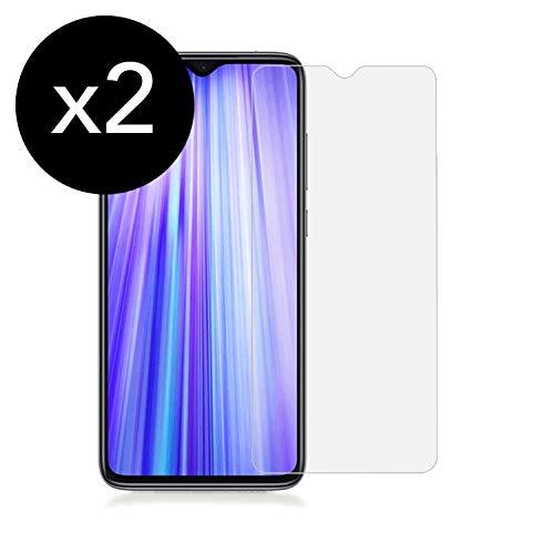 KSTORE365 [2 Piezas] Cristal Templado Xiaomi Redmi 7, Protector de Pantalla Xiaomi Redmi 7 Vidrio Templado con [Adhesivo En Todo El Cristal] [9H Dureza] [2.5D Borde Redondo] para Xiaomi Redmi 7