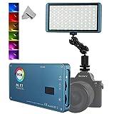 Falconeyes Lampe de Poche à Del Pockelite F7 RGB, CRI: 97, réglage réglable 2500K-9000K, Gradation Progressive de 0 à 100%,...