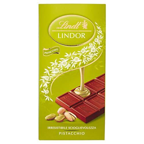 Lindt Lindor Tavoletta di Cioccolato, Pistacchio, 100g
