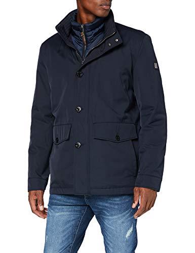 Strellson Premium Herren Court Jacke, Dark Blue 401, 52