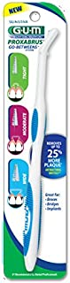 GUM Proxabrush Permanent Handle with Tight, Moderate, & Wide Go-Between Heads