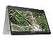 HP 14-inch Chromebook x360 with HD Touchscreen, Intel Pentium Silver N5000 Processor, Intel UHD Graphics 605, 4 GB RAM, 64 GB eMMC Storage, Chrome OS (14a-ca0022nr, 2021 Model) (Renewed)