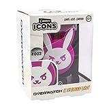 Paladone Overwatch D.Va Bunny Icon Luz | Collec, Rosa