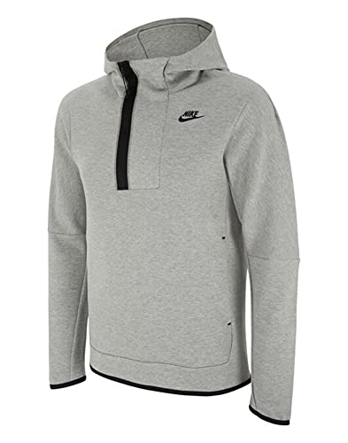 NIKE Felpa Sportswear Tech Fleece, Uomo, grigio, L