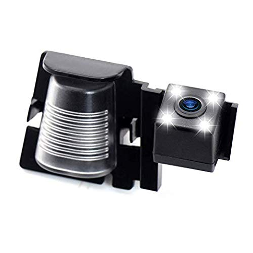 HD Rückfahrkamera wasserdicht Nachtsicht Auto Rückansicht Kamera Einparkhilfe Rückfahrsystem, Kennzeichenleuchte für Jeep Wrangler JKU/Jeep JK YJ/TJ/JK / J8 Rubicon/Sahara/Unlimited Sahara