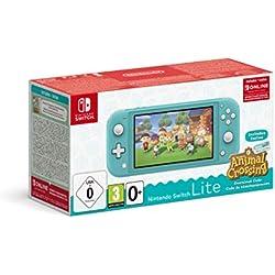 Nintendo Switch Lite Turchese + Animal Crossing New Horizons + NSO 3 mesi
