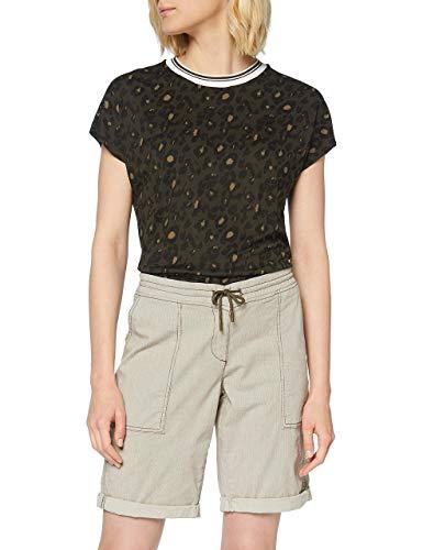 OPUS Damen Melvita Shorts, Grün (Oliv Green 3033), W(Herstellergröße: 34)