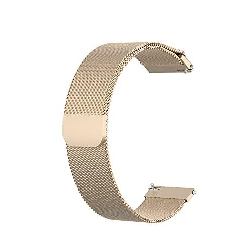 HEQIE-YONGP Banda de Reloj Universal de 22 mm, Correa de Reloj magnético (Color : NO.5)