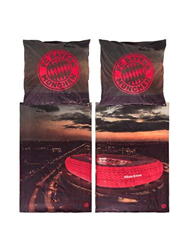 FC Bayern München Partner-Bettwäsche Allianz Arena