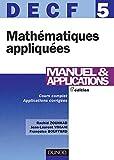 Mathématiques appliquées - Manuel & Applications