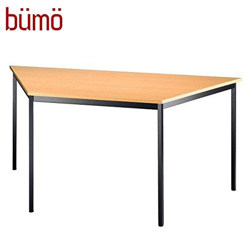 BÜMÖ Tisch für Konferenzraum, Pausenraum, Warteraum od. Besprechungsraum | Konferenztisch System | Meetingtisch in 2 Dekoren & 4 Varianten...