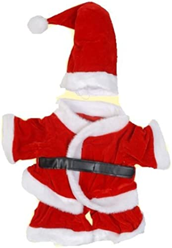 tienda en linea Santa Claus Claus Claus Outfit Fits Most 8-10 Webkinz, Shining Star and 8-10 Make Your Own Stuffed Animals and Build-A-Bear by Stuffems Toy Shop  ventas en linea
