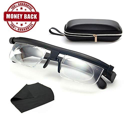 Haodasi Unisex Round Frame Short Sight Eyeglasses Myopia Nearsighted Glasses 1.00~-6.00