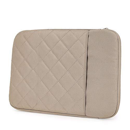 Laptoptas voor mannen, handtas voor dames, laptop, 15 inch, Bruin