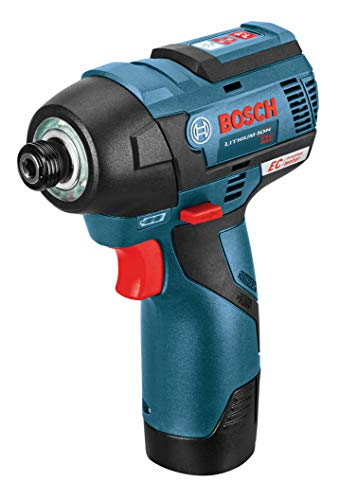 BOSCH GXL12V-220B22 12V Max 2-Tool Brushless Combo Kit with 3/8 In. Drill/Driver, 1/4 In. Hex Impact Driver and (2) 2.0 Ah Batteries