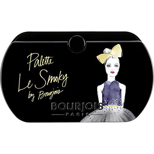 Bourjois - Palette Le Smoky - Set Ombretti per Smoky Eyes a Lunga Durata- 02 Le Smoky - 4.5g