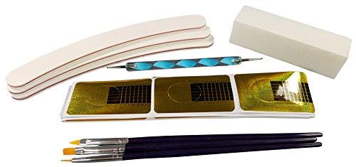 UV Lampe 36W + 8 x 4 ml Gele + Zubehör