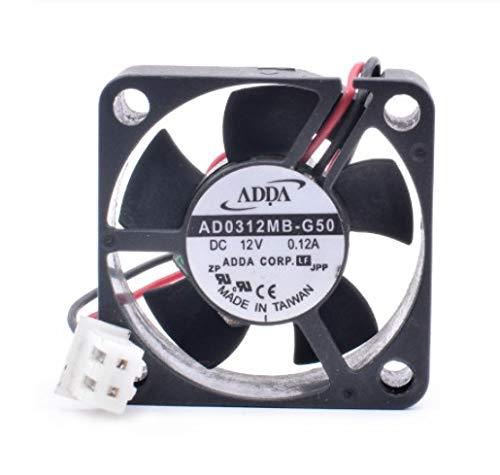Cooling Fan AD0312MB-G50,3010 3cm fan DC12V 0.12A,set-top box router micro cooler fan