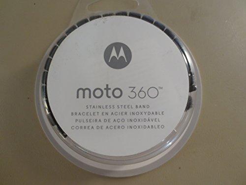 Motorola Moto360 Metal Watch Band - 23mm Dark Metal [Band Only]