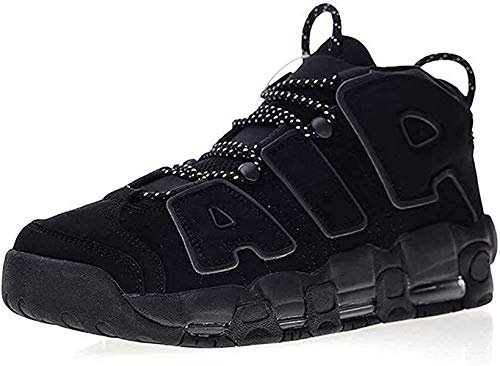 Men's More Breathable Uptempo '96 Non-Slip Wear-Resistant Training Athletic Comfortable Sneakers Air Cushion Fashion Basketball Shoes (Black 2,11)