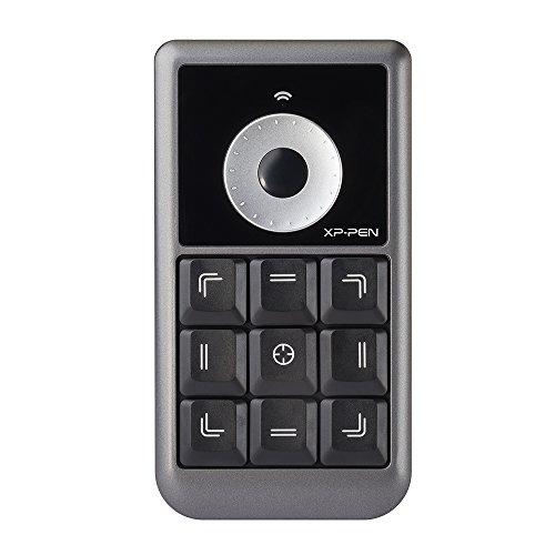 XP-Pen キーボード カスタマイズ 液タブ用 ワイヤレス ホイール 便利なホットキー 左手デバイス AC19 Shortcut Remote
