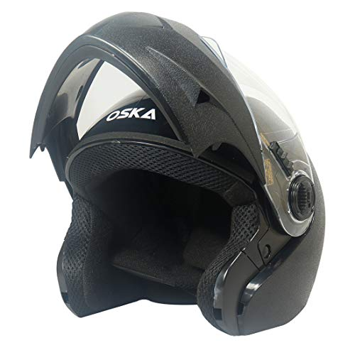 Steelbird SB-41 Oska Classic Flip Up Helmet Full Face Bike Riding Helmets...