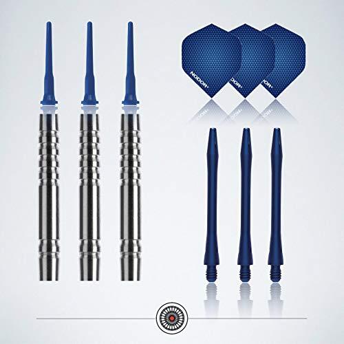 "Profi Soft-Darts Set ""Blue Arrows"" von myDartpfeil - 3"