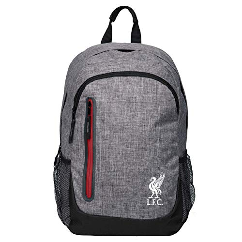 FOCO Liverpool FC Heather Grey Laptop Backpack