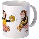 BeauMUG Monkey With Cymbals Mug Unique Coffee Mug, Coffee Cup no.597385