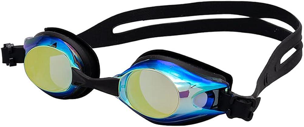 Gafas de natación MZSM Gafas de Natación Profesional Anti Niebla Gafas de Natación para Hombre y Mujer, Protección UV Gafas para Nadar Sin Fugas Ajustable Gafas de Buceo para Hombres, Mujeres, Adultos