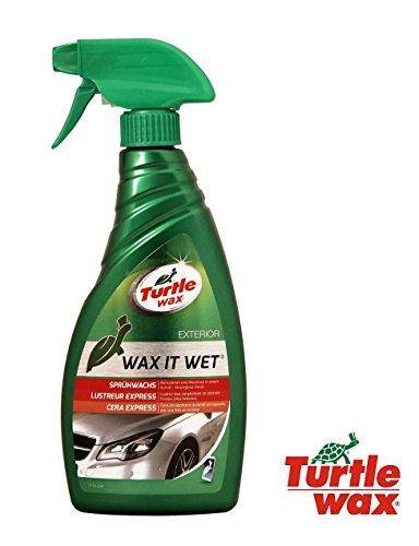 TURTLE WAX 500 ml WAX IT WET FG5197 autowax snelwax natte was spray auto wax spray hoogglans/tijdbesparend gebruik, als de auto nog nat is!