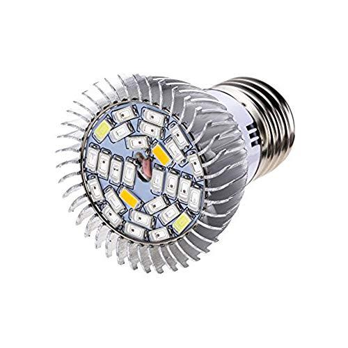 MATMO E27 LED Pflanzenlampe 10W Pflanzenleuchte Pflanzen Lampen 28 LEDs Wachstumslampe für Gewächshauspflanze, Blumen, Hydroponik usw.
