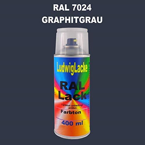 RAL 7024 Graphitgrau Matt 400 ml 1K Spray