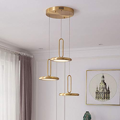 The only Good Quality Binnen Golden American Copper Restaurant Kandelaar drie minimalistisch modern Scandinavisch persoonlijkheid bar tafellamp 470 x 2265 mm