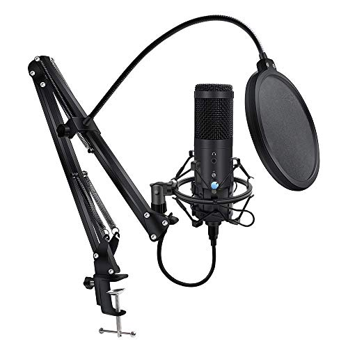 Studio Professional Mikrofon Computer-Microfono USB Microfono for YouTube CONDENSADOR USB-Recording-Mikrofon Live-Übertragung (Farbe: 3) LMMS ( Color : 3 )