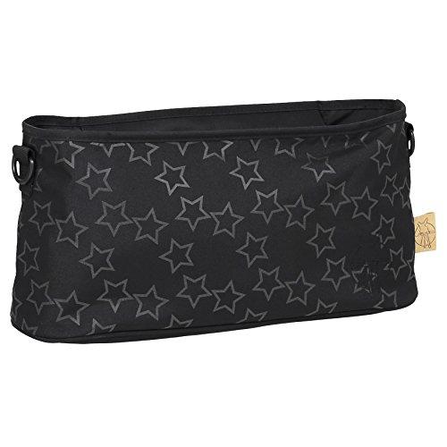 Lässig - Bolso cambiador 1101007000Green Label Saddle Bag Reflective Star black