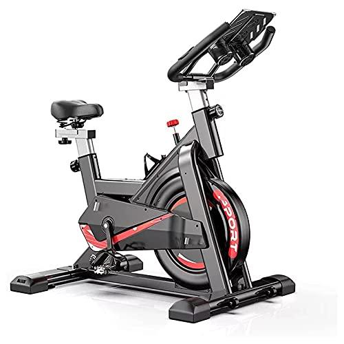 HUIXINLIANG Cyclette Cyclette, Cinghia di Trasmissione Indoor Cycling Bike, volano all-Inclusive e Design Ammortizzante Cushion è più Comodo e Sicuro, for palmare Home Exercise Training Cardio