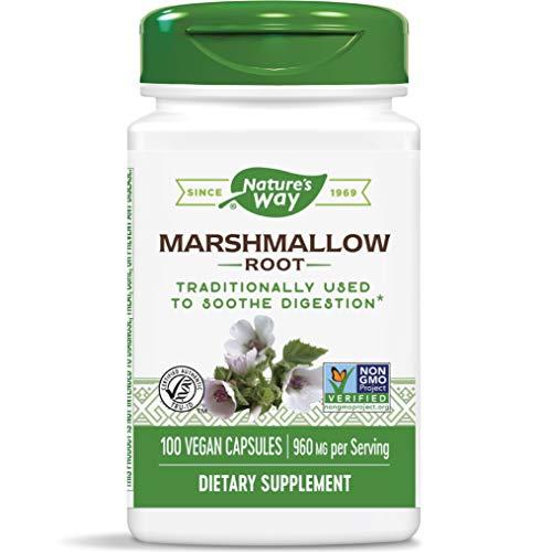 Nature's Way, Marshmallow-Wurzel, 480 mg, 100 Kapseln, sojafrei, glutenfrei