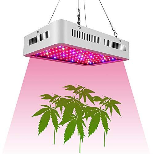 Led Pflanzenlampe Vollspektrum 1000W Pflanzenlicht Pflanzenleuchte Wachstumslampe Grow Lampe Zimmerpflanzen für Gewächshaus Sämlinge und Sukkulenten Gartenbau