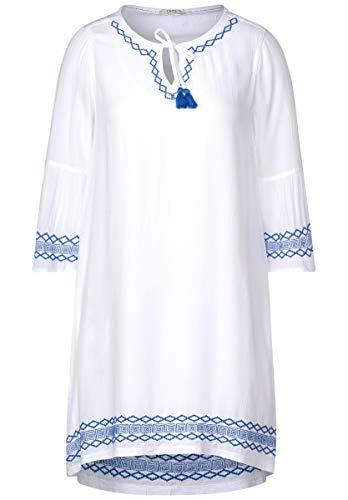 Cecil - Kurzes Kleid im Tunika-Style in White Größe XXL