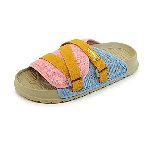 [People Footwear ピープルフットウェア] キッズ スライドサンダル シャワーサンダル 【LENNON CHILLER KIDS】 Beige(ベージュ) C12(18.5cm)