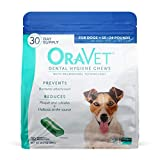 ORAVET Dental Hygiene Chews for Small Dogs (10-24 pounds), 30-Count Pack
