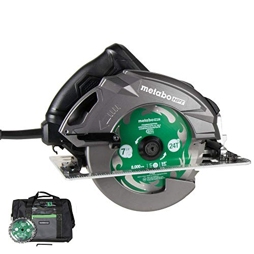 Metabo HPT RipMax 15-Amp 7-1/4-Inch Circular Saw Kit,