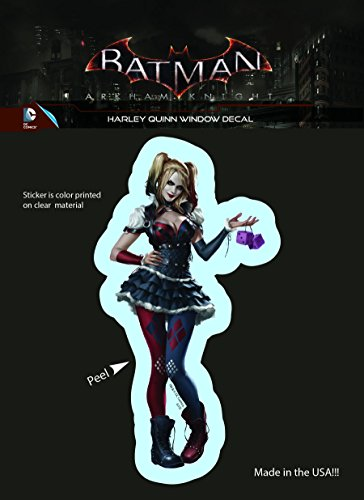 418WyetRhTL Harley Quinn Car Decals