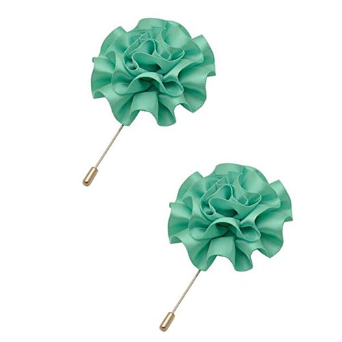 2PCS broches Broche Broches Broches élégantes décoration pour dames, Lac vert