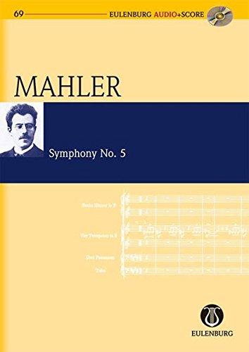 Symphony Nr. 5: Orchester. Studienpartitur + CD.: in fünf Sätzen für großes Orchester (Eulenburg Audio+Score, Band 69)